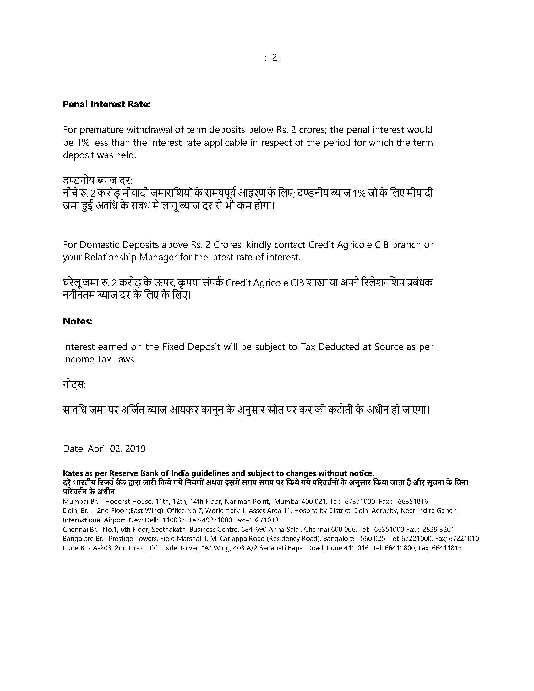 India | Crédit Agricole CIB