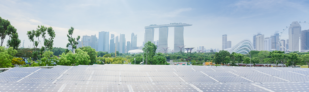 Solar power in Singapore