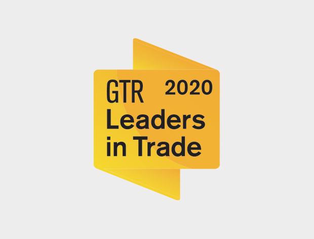 Global Trade Review's Leaders in Trade Finance award logo
