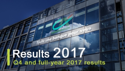 Crédit Agricole S.A. - the fourth quarter and full year 2017 results