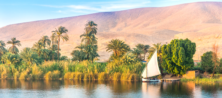 Photo of the Nile river