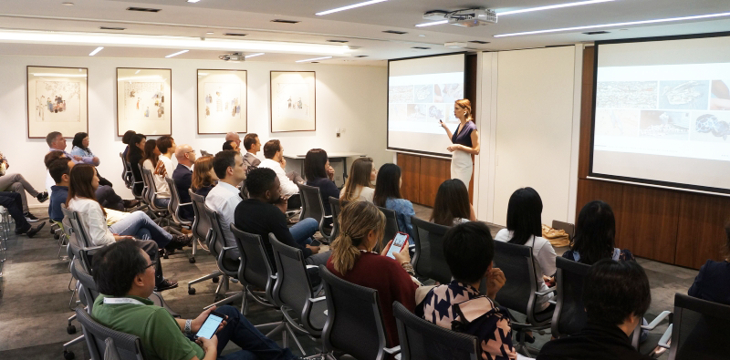 Fanny Moritz, founder of NO!W No Waster, shared her insights and tips for a Zero Waste lifestyle with our Hong Kong colleagues