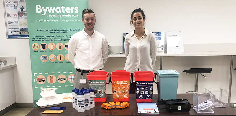 Our waste distributor in London, By Waters, discussed how each of us can contribute to this change